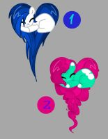 Heart Pony Adoptable Auction Pack #1 [CLOSED] by BetaTheGamerGirl