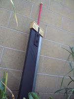 Zack Fair Buster sword by rathy6