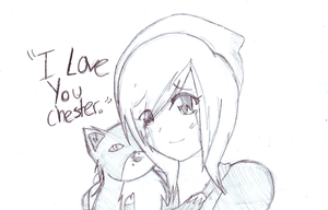 I love you Chester by SGTCTOINFINITY