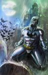 Batman_It's hard to lose them by Doretetsu