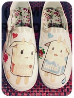 Tokidoki slip-on's by MissRandumb