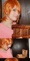 Nami One Piece - Wig Test - by Thara-Wood
