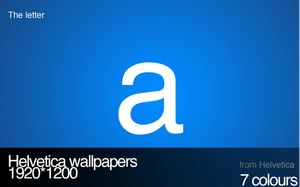 Helvetica Wallpapers by m4t7