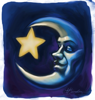 Starry-Eyed Moon by ThirtyFiveThousand