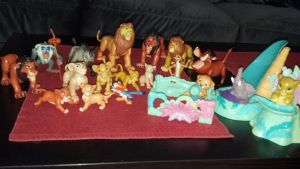Lion king figures by Vesperwolfy87