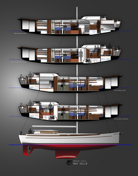 Morozov Yachts M45SOLID Classic Pilothouse Cruiser by Fabien-Sokal