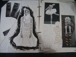 White Project Sketchbook 4 by happyhippybassist