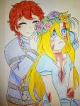 A Flower Crown For My Sister by nightmarequeenkasei
