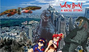 We're  back! A Kaiju story poster by Ltdtaylor1970