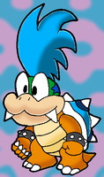 Paper Larry Koopa by Tails19950