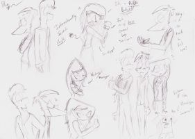 PnF Sketchies of Virginia by BlueAuroraLight