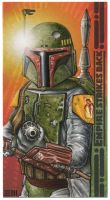Boba Fett - Empire Widevision Artist Proof by Erik-Maell