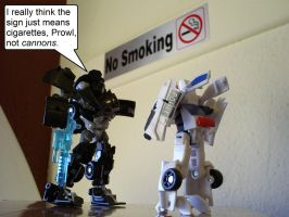 No Smoking by Cairistona