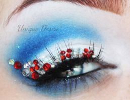 Candy Cane Glam by Unique-Desire
