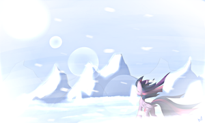 Twilight in the sky by QueenBloodySky