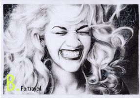 Rita Ora by B-Portrayed