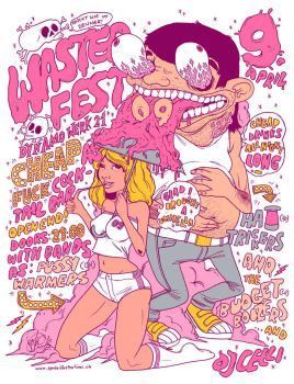Wasted Fest by spokeart