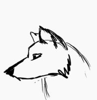 Animation: Coughing wolf by Muffy13