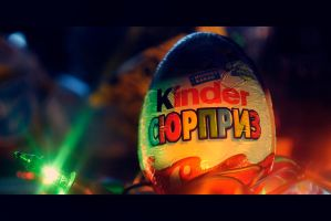 kinder surprise by vadimfrolov