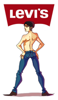 Levi in Levi's by meixx