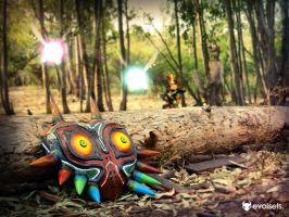 Majora's Mask Replica - In the Woods by evolsets
