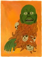 Creature of the black lagoon by Teagle