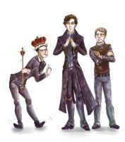 Uhm...Sherlock... by The30thOfFebruary