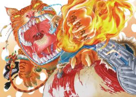ATTACK ON BOXTIGER!!! by Melthes