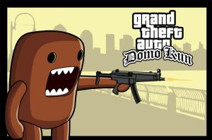 GTA Domo Kun by matt-chops