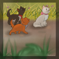 .:Three little kitten:. by catpain