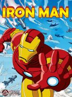 Illustration: Iron Man by asendos