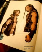 Styles vs Reigns by suicidalassassin