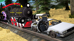Taking the Train (Based on BTTF Part III) by NightB1ader