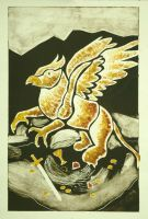 The Light Griffin by LaurasMuse