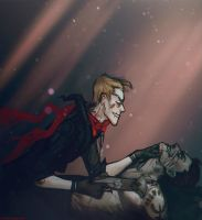 The Hunter and his Victim by Anivel