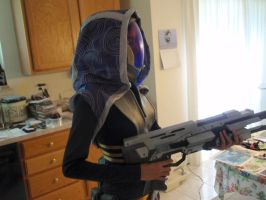 Tali WIP 7.2 - Side by Ivorybacon