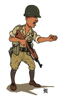 WWII Chinese Army 1945 by darthpandanl