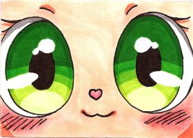Sweet Eyes ACEO 8 by JasiChan17