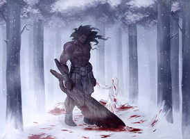 You're strong, Berserker by rimuu