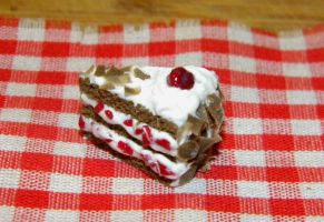 Black Forest Cake Slice by sonickingscrewdriver