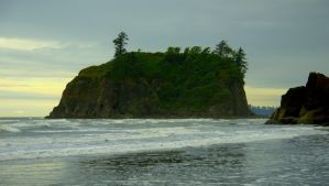Ruby Beach, Olympic Peninsula, Washington V by PamplemousseCeil