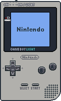 Game Boy Light by BLUEamnesiac