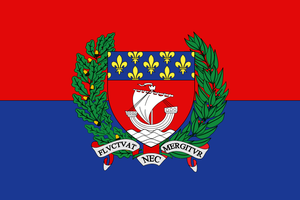 Parisian City-State - flag by Neethis