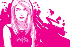 Pinky Buffy by MPdigitalART