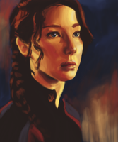 Katniss by revois