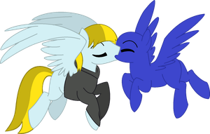[COLLAB] A good pegasi kiss (OPEN) by LR-Studios