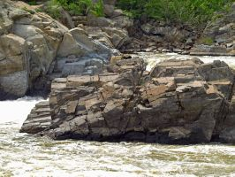 Great Falls of the Potomac 50 by Dracoart-Stock