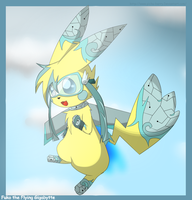 Fuko the Flying Gigabytte by pichu-berry