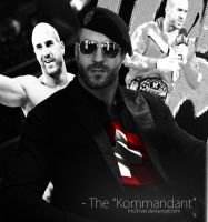 Antonio Cesaro - The Kommandant by MrS3nzei