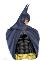Batman Turner Style 4 Color by ESO2001